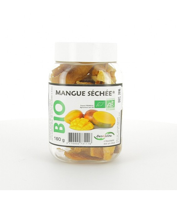 Mangue Séchée bio, 160 g