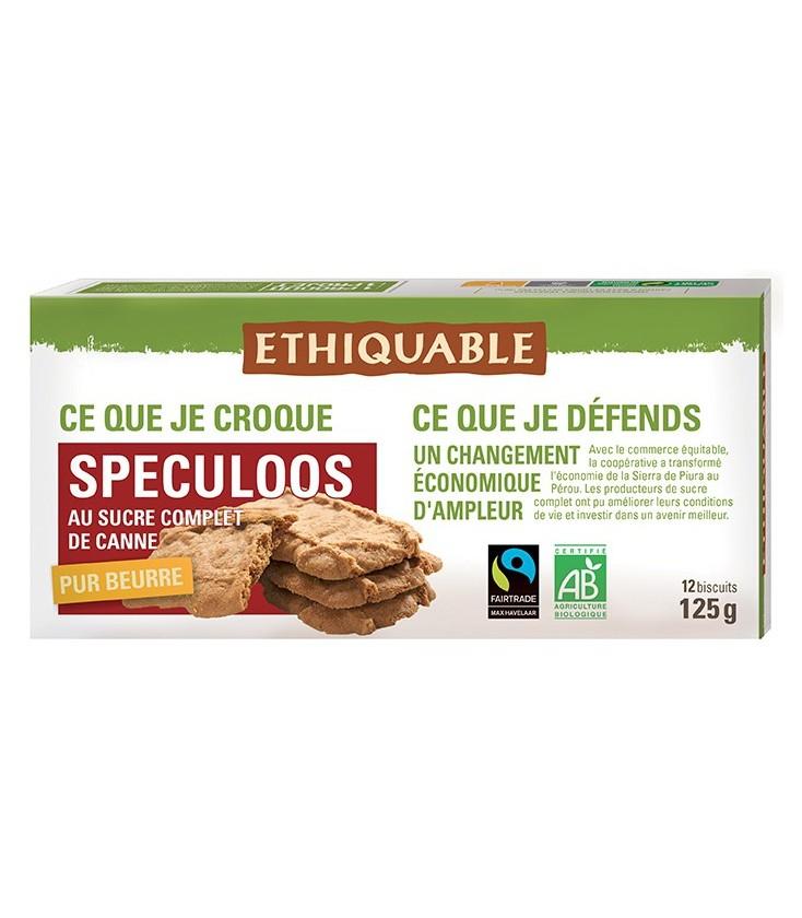 DATE PROCHE - Speculoos au sucre complet de canne bio & équitable