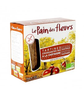 Tartines craquantes à la châtaigne sans gluten bio