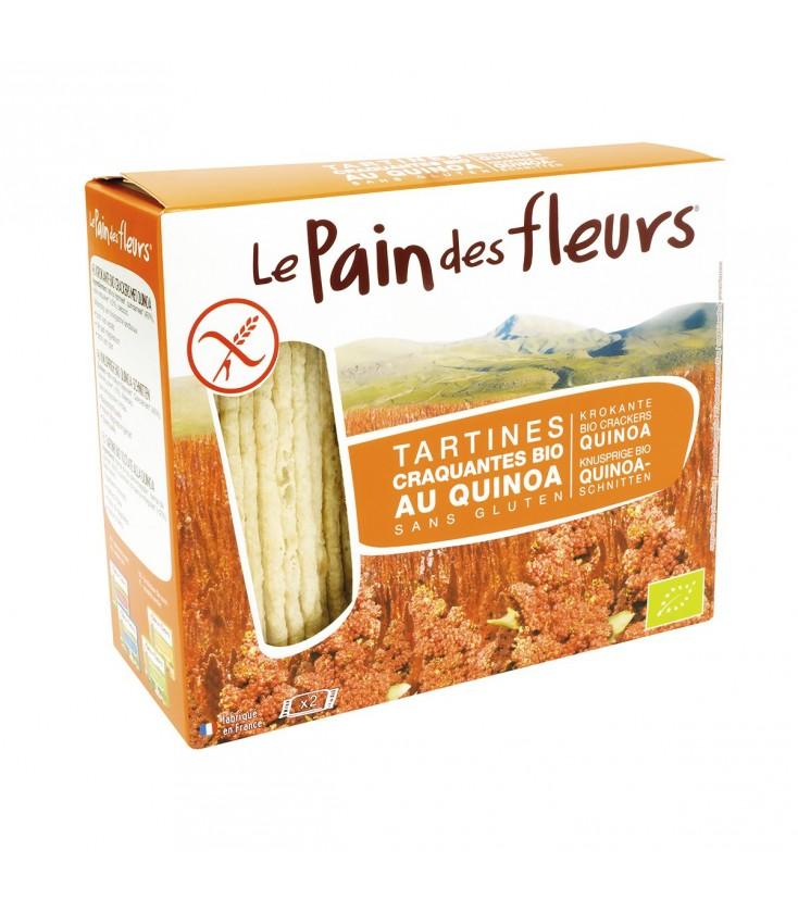 DATE DÉPASSÉE - Tartines craquantes au quinoa sans gluten bio