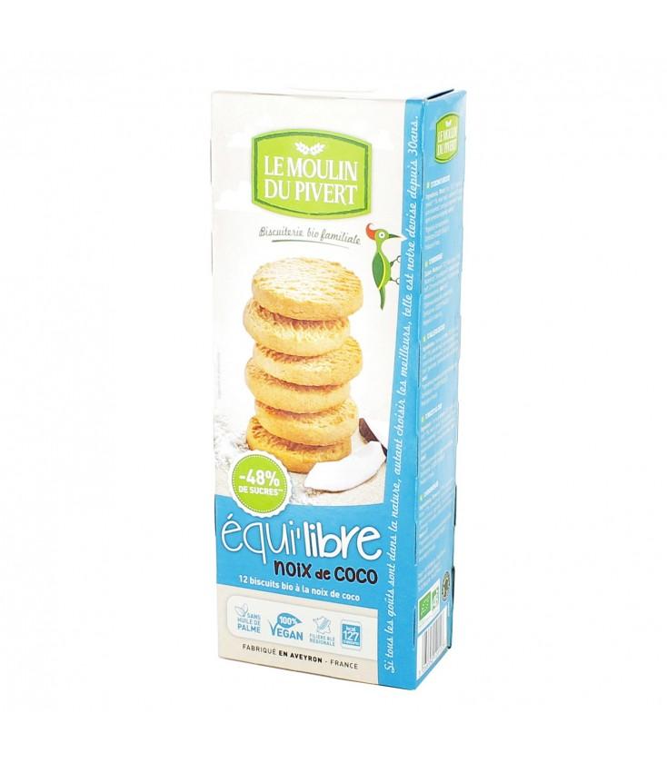 PROMO DÉCOUVERTE - Biscuits bio Equi'libre Coco Bio & Vegan