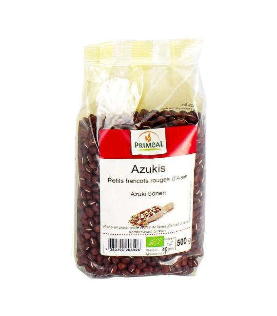 Azukis : Petits haricots rouges d'Asie bio