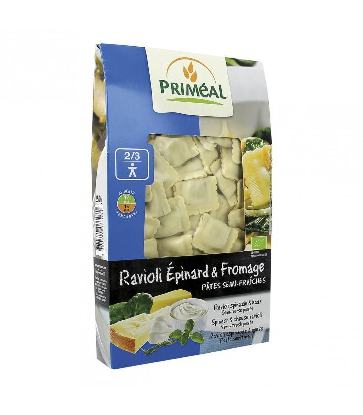 DATE DÉPASSÉE - Ravioli Épinard & Fromage bio