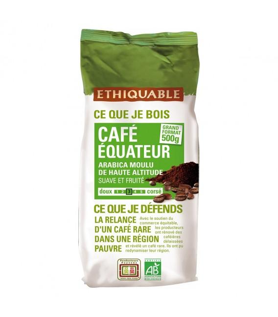 Café Equateur MOULU bio & équitable - 500 g