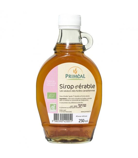 PROMO - Sirop d'Érable bio pur de grade C