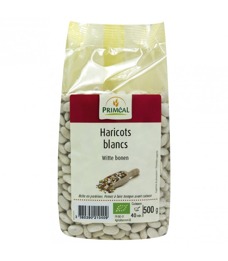 DATE PROCHE - Haricots blancs bio 500 g