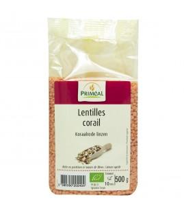 PROMO - Lentilles corail bio