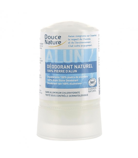 Déodorant naturel 100% pierre d'Alun, 60 g