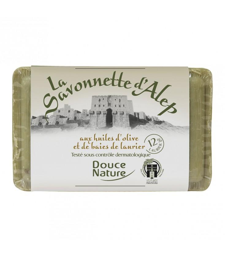 PROMO - Savonnette d'Alep et aux huiles d'olive et de baies de laurier 12%