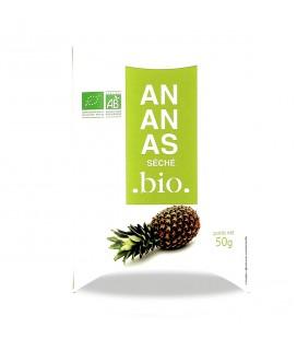 Ananas séché bio, 50 g