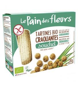 Tartines craquantes au souchet sans gluten bio