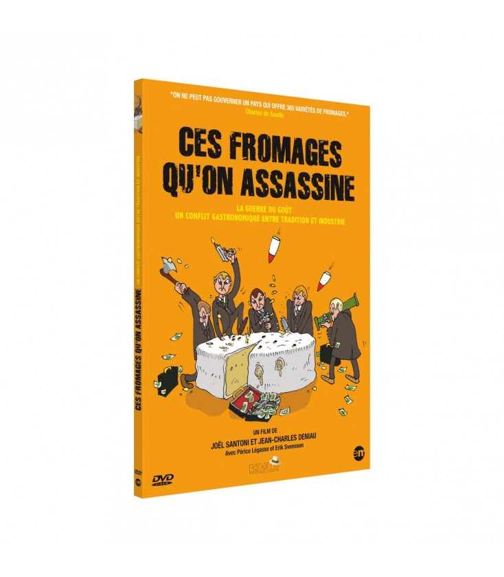 Ces fromages qu'on assassine (DVD)