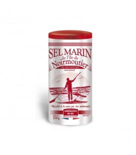 Sel FIN marin naturel non raffiné de l'île de Noirmoutier
