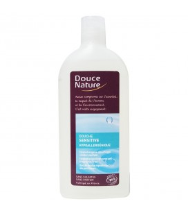 Gel douche sensitive hypoallergénique bio