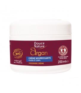 Crème nourissante visage et corps à l'huile d'argan bio et équitable