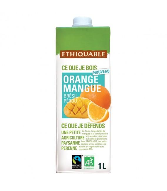 Jus Orange Mangue bio & équitable
