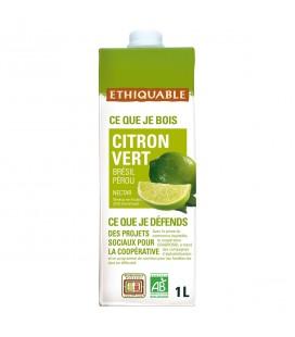 Nectar de Citron Vert bio & équitable