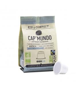 Capsules de café ADENIA (décaféiné) bio & compost & équitable x10