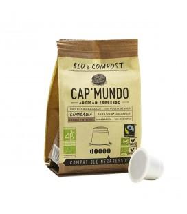 Capsules de café COMBAWA (corsé) bio & équitable x10