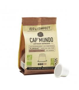 Capsules de café PLANADAS (Colombie) bio & équitable x10