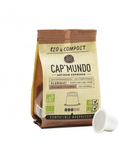 Capsules de café PLANADAS (Colombie) bio & compost & équitable x10